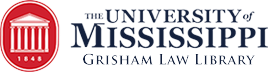 University of Mississippi Grisham Law Library Logo